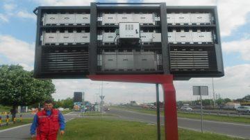 Spoljni LED ekran